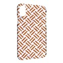 WOVEN2 WHITE MARBLE & RUSTED METAL (R) Apple iPhone X Hardshell Case View2