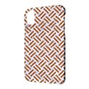 WOVEN2 WHITE MARBLE & RUSTED METAL (R) Apple iPhone X Hardshell Case View3