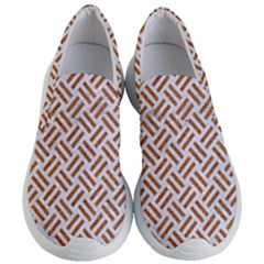 WOVEN2 WHITE MARBLE & RUSTED METAL (R) Women s Lightweight Slip Ons