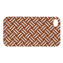 WOVEN2 WHITE MARBLE & RUSTED METAL Apple iPhone 4/4S Hardshell Case View1