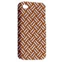 WOVEN2 WHITE MARBLE & RUSTED METAL Apple iPhone 4/4S Hardshell Case (PC+Silicone) View2