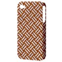 WOVEN2 WHITE MARBLE & RUSTED METAL Apple iPhone 4/4S Hardshell Case (PC+Silicone) View3