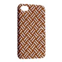 WOVEN2 WHITE MARBLE & RUSTED METAL Apple iPhone 4/4S Hardshell Case with Stand View2