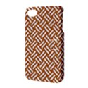 WOVEN2 WHITE MARBLE & RUSTED METAL Apple iPhone 4/4S Hardshell Case with Stand View3