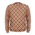 WOVEN2 WHITE MARBLE & RUSTED METAL Men s Sweatshirt View1