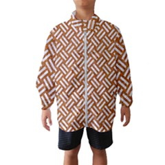 Woven2 White Marble & Rusted Metal Wind Breaker (kids) by trendistuff