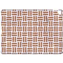 WOVEN1 WHITE MARBLE & RUSTED METAL (R) Apple iPad Pro 12.9   Hardshell Case View1