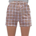 WOVEN1 WHITE MARBLE & RUSTED METAL (R) Sleepwear Shorts View1