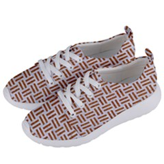 Woven1 White Marble & Rusted Metal (r) Women s Lightweight Sports Shoes by trendistuff