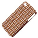 WOVEN1 WHITE MARBLE & RUSTED METAL Apple iPhone 4/4S Hardshell Case (PC+Silicone) View4