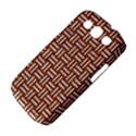WOVEN1 WHITE MARBLE & RUSTED METAL Samsung Galaxy S III Classic Hardshell Case (PC+Silicone) View4