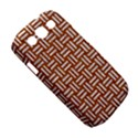 WOVEN1 WHITE MARBLE & RUSTED METAL Samsung Galaxy S III Classic Hardshell Case (PC+Silicone) View5