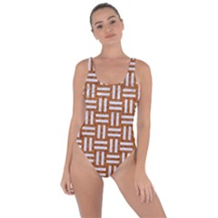WOVEN1 WHITE MARBLE & RUSTED METAL Bring Sexy Back Swimsuit