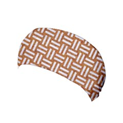 WOVEN1 WHITE MARBLE & RUSTED METAL Yoga Headband