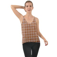 WOVEN1 WHITE MARBLE & RUSTED METAL Cami