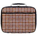WOVEN1 WHITE MARBLE & RUSTED METAL Full Print Lunch Bag View1