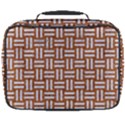 WOVEN1 WHITE MARBLE & RUSTED METAL Full Print Lunch Bag View2