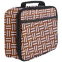 WOVEN1 WHITE MARBLE & RUSTED METAL Full Print Lunch Bag View3