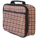 WOVEN1 WHITE MARBLE & RUSTED METAL Full Print Lunch Bag View4