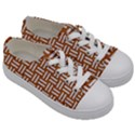 WOVEN1 WHITE MARBLE & RUSTED METAL Kids  Low Top Canvas Sneakers View3