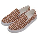 WOVEN1 WHITE MARBLE & RUSTED METAL Men s Canvas Slip Ons View2