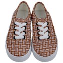 WOVEN1 WHITE MARBLE & RUSTED METAL Kids  Classic Low Top Sneakers View1