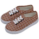 WOVEN1 WHITE MARBLE & RUSTED METAL Kids  Classic Low Top Sneakers View2