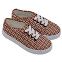 WOVEN1 WHITE MARBLE & RUSTED METAL Kids  Classic Low Top Sneakers View3