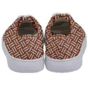 WOVEN1 WHITE MARBLE & RUSTED METAL Kids  Classic Low Top Sneakers View4