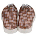 WOVEN1 WHITE MARBLE & RUSTED METAL Men s Mid-Top Canvas Sneakers View4