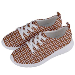 WOVEN1 WHITE MARBLE & RUSTED METAL Women s Lightweight Sports Shoes