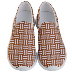 WOVEN1 WHITE MARBLE & RUSTED METAL Men s Lightweight Slip Ons