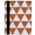 TRIANGLE3 WHITE MARBLE & RUSTED METAL Apple iPad Mini Flip Case View3