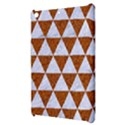 TRIANGLE3 WHITE MARBLE & RUSTED METAL Apple iPad Mini Hardshell Case View3