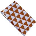 TRIANGLE3 WHITE MARBLE & RUSTED METAL Apple iPad Mini Hardshell Case View5