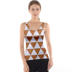 Triangle3 White Marble & Rusted Metal Tank Top