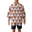 TRIANGLE3 WHITE MARBLE & RUSTED METAL Wind Breaker (Kids) View1