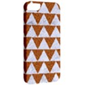 TRIANGLE2 WHITE MARBLE & RUSTED METAL Apple iPhone 5 Classic Hardshell Case View2