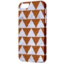TRIANGLE2 WHITE MARBLE & RUSTED METAL Apple iPhone 5 Classic Hardshell Case View3