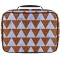 TRIANGLE2 WHITE MARBLE & RUSTED METAL Full Print Lunch Bag View2
