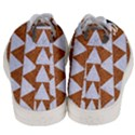 TRIANGLE2 WHITE MARBLE & RUSTED METAL Men s Mid-Top Canvas Sneakers View4