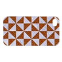 TRIANGLE1 WHITE MARBLE & RUSTED METAL Apple iPhone 4/4S Hardshell Case View1