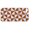 TRIANGLE1 WHITE MARBLE & RUSTED METAL Apple iPhone 5 Hardshell Case View1