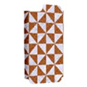 TRIANGLE1 WHITE MARBLE & RUSTED METAL Apple iPhone 5 Hardshell Case (PC+Silicone) View2