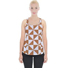 Triangle1 White Marble & Rusted Metal Piece Up Tank Top by trendistuff