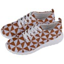 TRIANGLE1 WHITE MARBLE & RUSTED METAL Men s Lightweight Sports Shoes View2