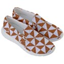 TRIANGLE1 WHITE MARBLE & RUSTED METAL Women s Lightweight Slip Ons View3