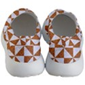 TRIANGLE1 WHITE MARBLE & RUSTED METAL Women s Lightweight Slip Ons View4