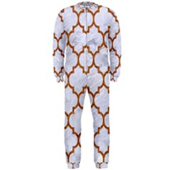 TILE1 WHITE MARBLE & RUSTED METAL (R) OnePiece Jumpsuit (Men)