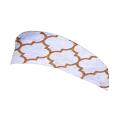 TILE1 WHITE MARBLE & RUSTED METAL (R) Stretchable Headband